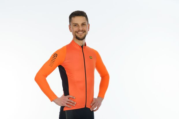 Alé Warm Race Trikot