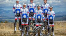 BKK Mobil Oil Cycling Team Trainingslager Mallorca 2018