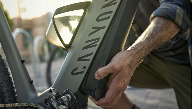 Canyon GrailOn E-Gravel-Serie ActionShuts