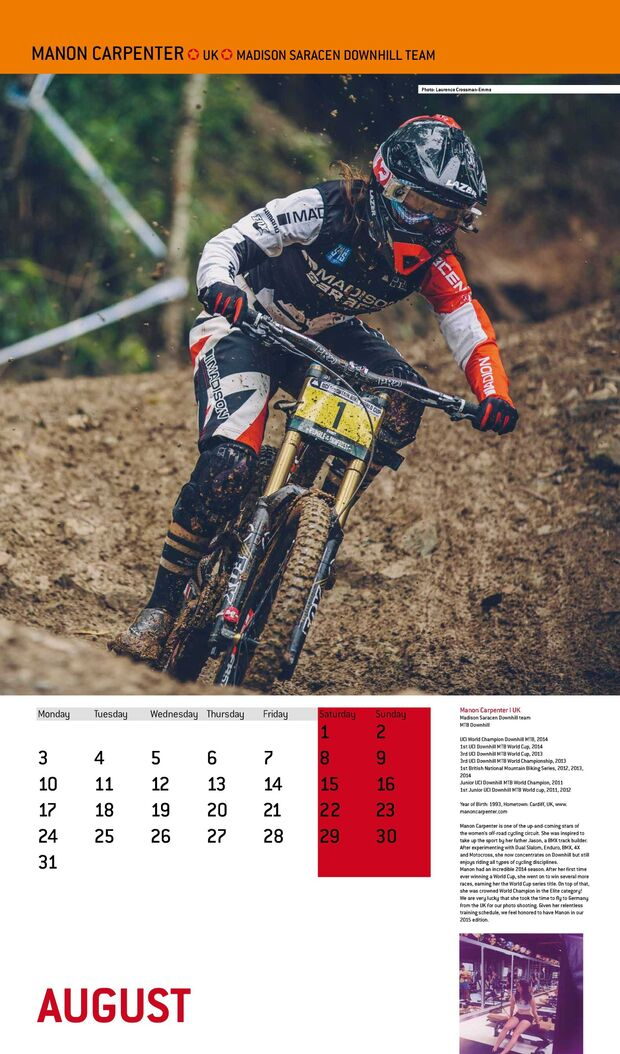 Cyclepassion Kalender 2015 August Action (jpg)