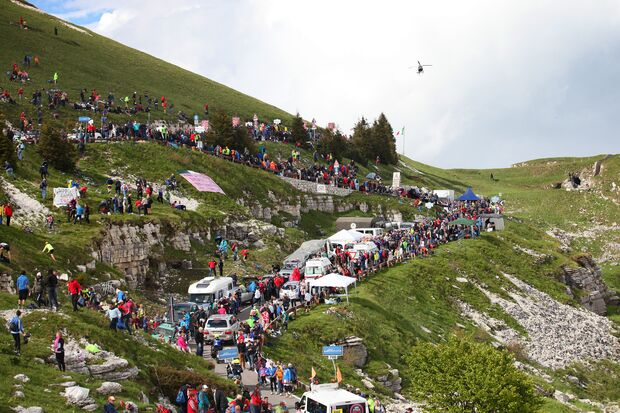 Cycling: 97th Tour of Italy 2014 / Stage 19