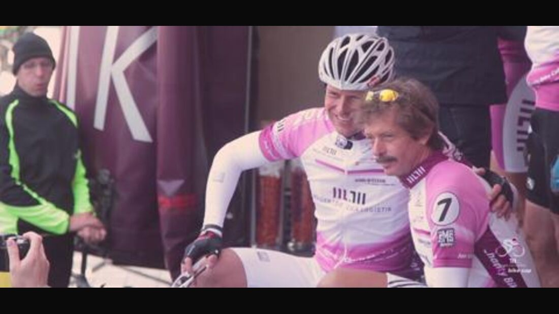 Lila Logistik Charity Bike Cup 2014 Trailer