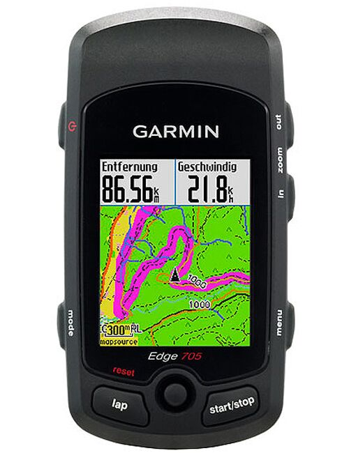 MB Garmin Edge 705 HR