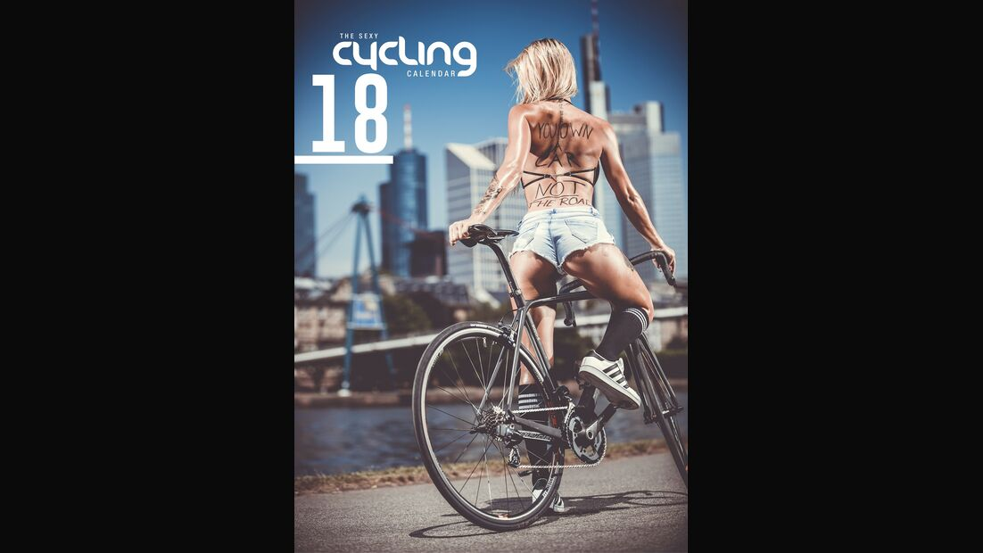MB The Sexy Cycling Kalender 2018 Titel