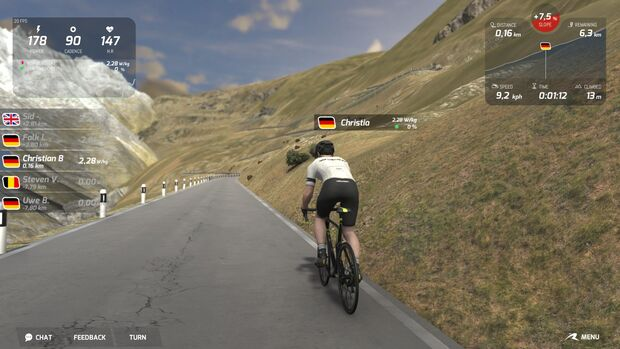 RB App Road Grand Tours Screenshot
