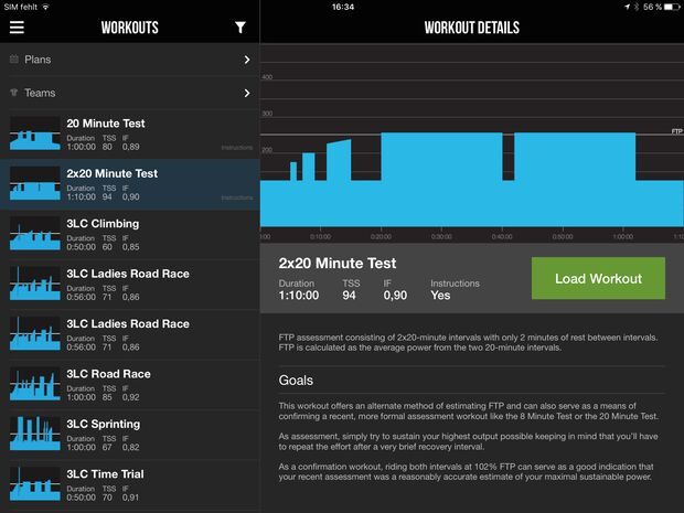 RB Apps Training Rolle Trainerroad