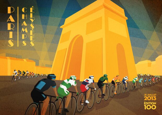 RB Cycling Posters Bruce Doscher Tour de France 15 2013_A2_stage_21_72dpi_RGB (jpg)