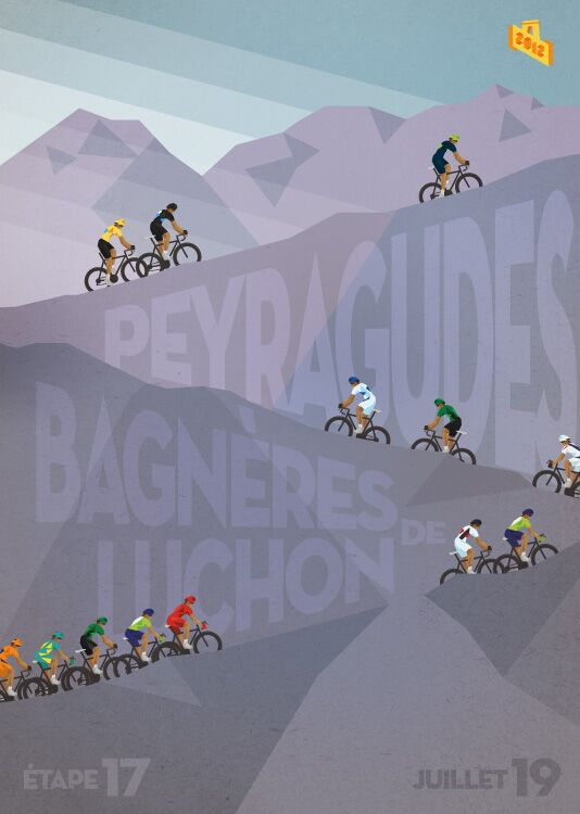 RB Cycling Posters Bruce Doscher Tour de France 17 2012_A2_17_small (jpg)