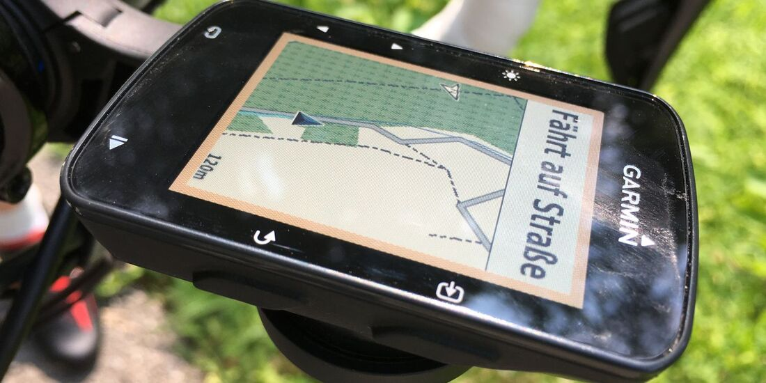 RB Garmin Edge 520 plus Dauertest 2018