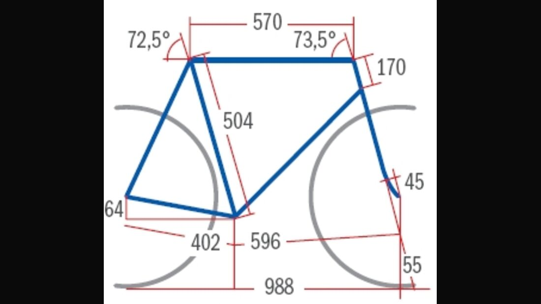 RB Giant TCR Advanced SL Geometrie