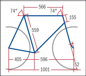 RB Haibike Speed RX - Geometrie