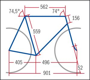RB Haibike Speed SL - Geometrie