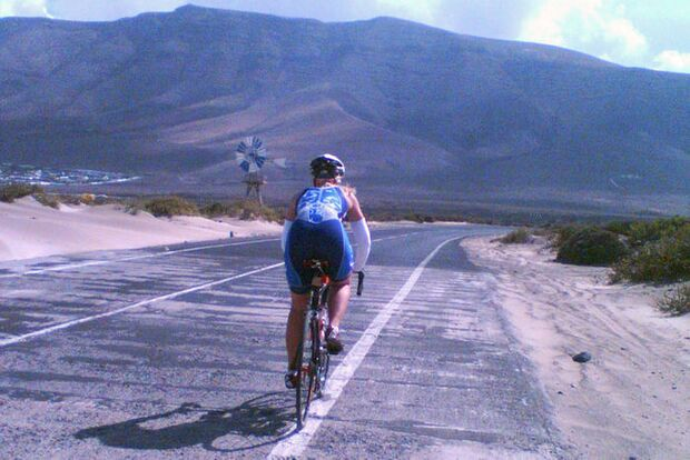 RB Miriam Mandt Ironman Lanzarote Long way