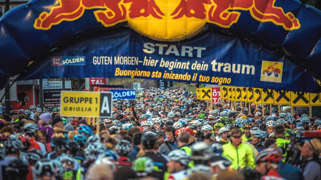 RB Ötztaler Radmarathon Start 2017