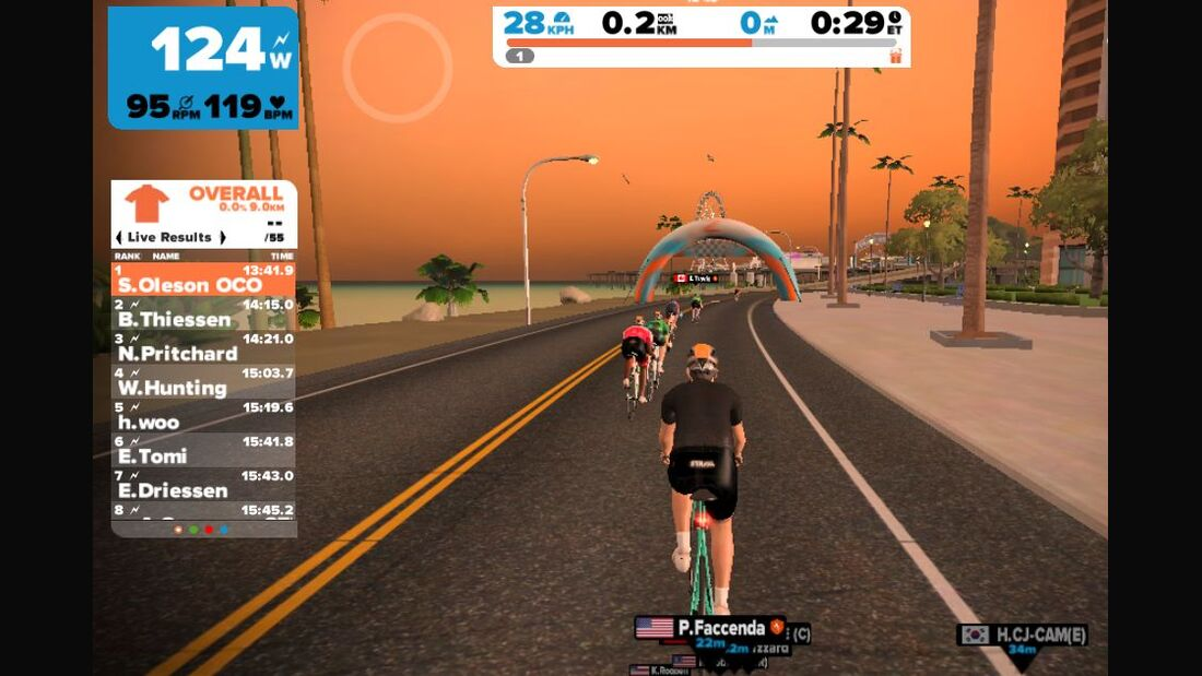 RB Online Zwift iOS
