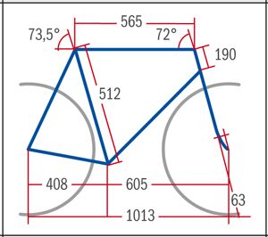 RB Specialized Roubaix Comp C2 - Geometrie
