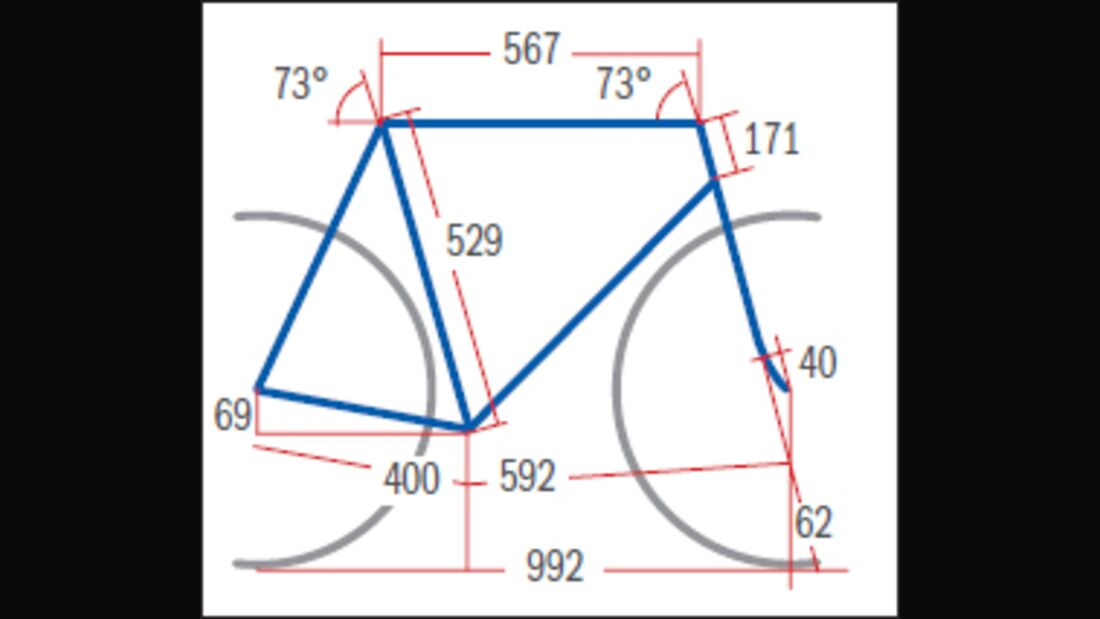 RB Specialized Tarmac Comp C2 - Geometrie
