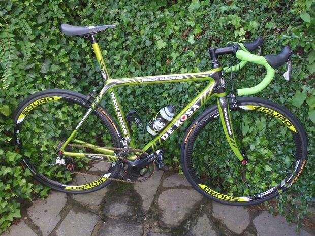RB Uwe Ricke De Rosa King 3 - Original Rock Racing Teamrad