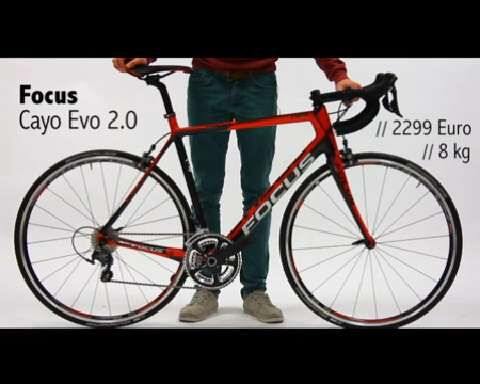 RoadBIKE Test 04/2014: Focus Cayo Evo 2.0