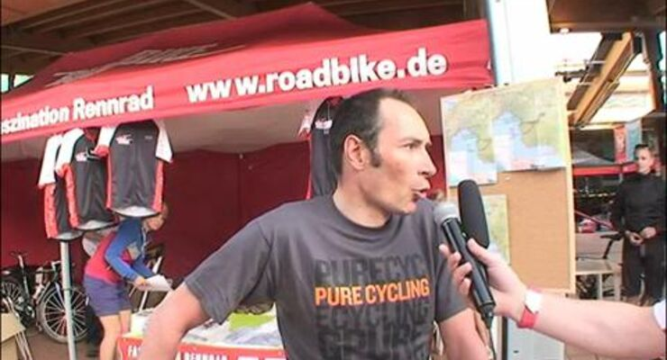 Sigma RoadBIKE-Festival 2011 - Interview mit Erik Zabel