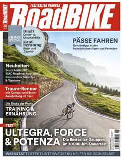Titel Cover ROADBIKE Ausgabe 08/2019 August